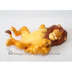 Figurine Mufasa et Simba DISNEY Le roi lion pvc 10 cm