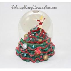 Snow globe Fée Clochette DISNEY sapin de Noël boule à neige Christmas 13 cm