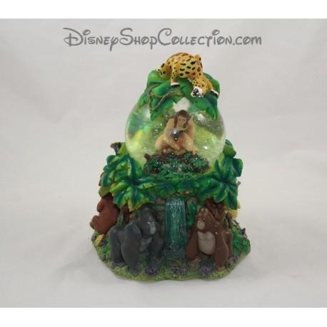 Snow globe musical Tarzan DISNEY STORE Two World's boule à neige 20 cm