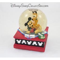globo de la nieve de globo de nieve de 16 cm musical Mickey DISNEY Toon veces mejores amigos