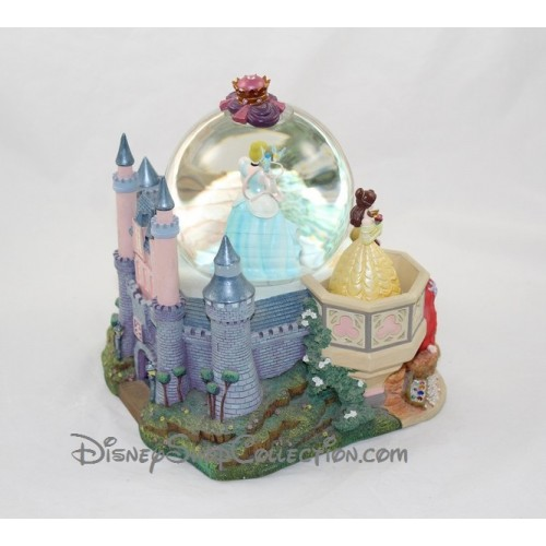 Snow globe musical princesse disney cendrillon belle ariel auror - Boule a neige collectionneur ...