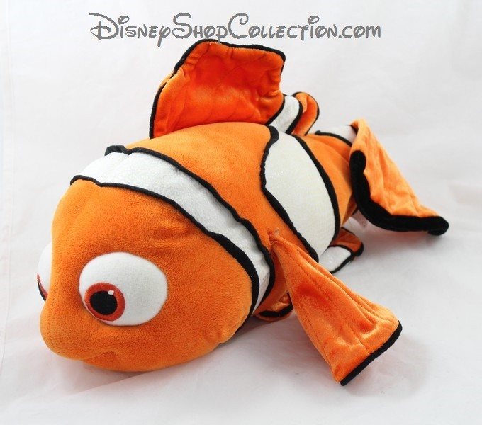 peluche poisson nemo disney store le monde de nemo poisson clown 40. Black Bedroom Furniture Sets. Home Design Ideas