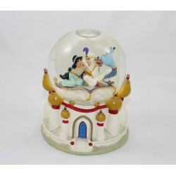 Snow globe musical Aladdin DISNEY Jasmine Aladdin Whole new World boule à neige