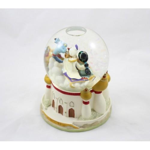Snow globe musical aladdin disney jasmine aladdin whole new world b - Boule a neige collectionneur ...