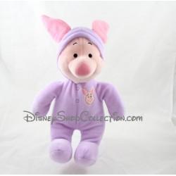 Peluche cochon Porcinet DISNEY capuche pyjama combinaison 30 cm
