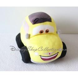 Peluche voiture Cars NICOTOY Luigi voiture jaune italienne Disney
