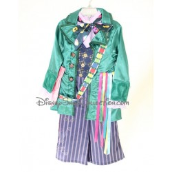 The DISNEY STORE Alice Mad Hatter costume in the land of wonders 4 years