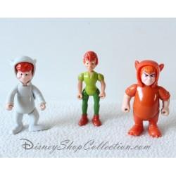 Figurines articulées Peter Pan DISNEY lot de 3 figurines plastique