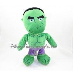 Peluche Hulk NICOTOY super héros Avengers Marvel vert 34 cm