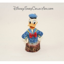 Figurine buste Donald DISNEY TRADITIONS Wood Carved Collection 11 cm