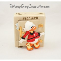 Tirelire canard Picsou WALT DISNEY PRODUCTIONS céramique 11 cm