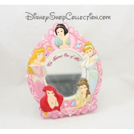 Miroir princesses disneyland paris cadre ovale r sine the for Miroir princesse
