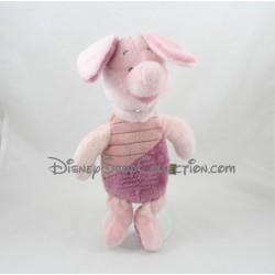 Peluche Porcinet NICOTOY Disney microbilles cochon rose 30 cm