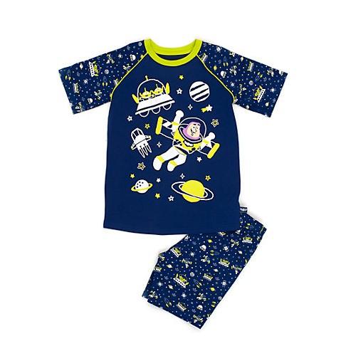 pyjama 2 pi ces buzz l 39 clair disney store toy story 3 ans short. Black Bedroom Furniture Sets. Home Design Ideas