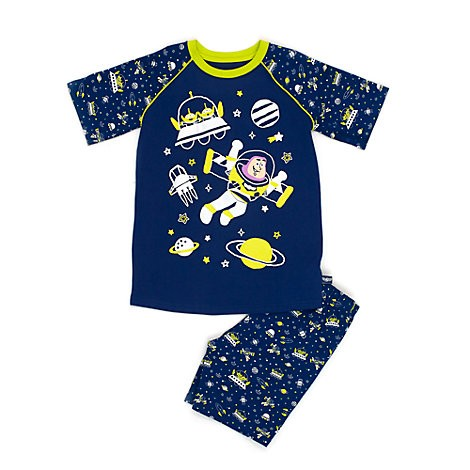 pyjama 2 pi ces buzz l 39 clair disney store toy story 3 ans short. Black Bedroom Furniture Sets. Home Design Ideas