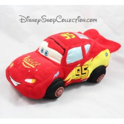 Peluche voiture Flash Mcqueen DISNEY STORE Cars rouge 30 cm