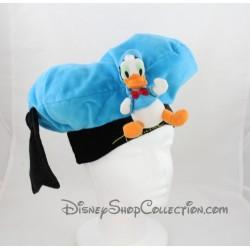 Chapeau Donald DISNEYLAND PARIS bleu noir adulte ou enfant 30 cm