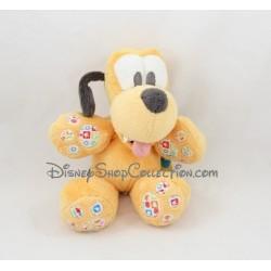 Peluche chien Pluto DISNEY BABY MIckey et ses amis grelot 22 cm