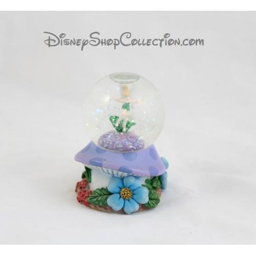 snow globe f e clochette disney champignon fleur petite. Black Bedroom Furniture Sets. Home Design Ideas