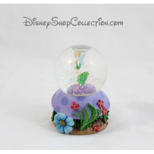 Snow globe f e clochette disney champignon fleur petite boule nei - Boule a neige collectionneur ...