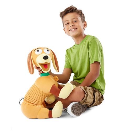 peluche g ante zig zag chien disney slinky dog toy story. Black Bedroom Furniture Sets. Home Design Ideas