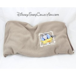 Couverture bébé Donald DISNEY marron fermeture zip 90 x 75 cm