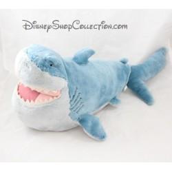 Peluche requin Bruce DISNEY STORE Le Monde de Némo 50 cm