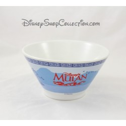 Mulan DISNEY flared Bowl ceramic blue and white 7 cm
