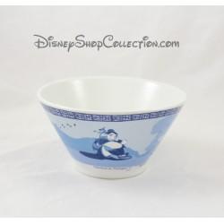 Bol Mulan DISNEY évasé céramique bleu et blanc 7 cm