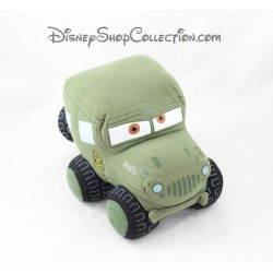 Peluche voiture sergent NICOTOY Sarge Jeep militaire Disney 23 cm