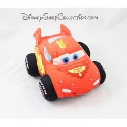 Peluche voiture Flash Mcqueen DISNEY Cars rouge 21 cm
