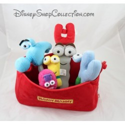 Plush soft toy Handy Manny DISNEY STORE toolbox plush