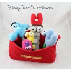Plush soft toy Handy Manny DISNEY STORE toolbox plush
