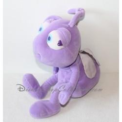 Peluche fourmi Couette DISNEY 1001 Pattes princesse mauve 36 cm