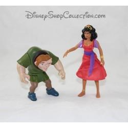Figurines articulées Le Bossu de Notre Dame DISNEY Esmeralda et Quasimodo