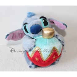 Plush musical Stitch DISNEY STORE Christmas Lilo and Stitch ball 15 cm