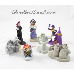Figurines Esmeralda DISNEY Le Bossu de Notre Dame lot de 7