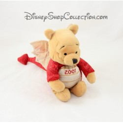 Peluche Winnie l'ourson DISNEY STORE déguisé en dragon 15 cm