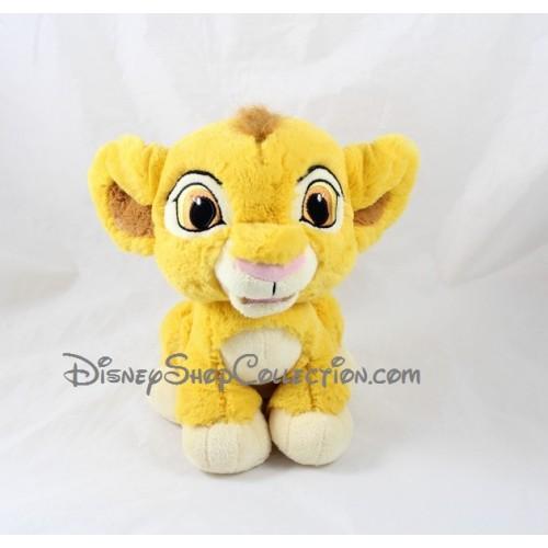 peluche lion simba disneyparks le roi lion disney grosse t te 21 cm. Black Bedroom Furniture Sets. Home Design Ideas