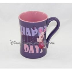 Mug en relief Porcinet DISNEY STORE Happy Sunny Day tasse en céramique 3D 13 cm