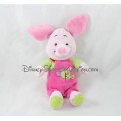 Plush Piglet DISNEY BABY pink overalls 27 cm