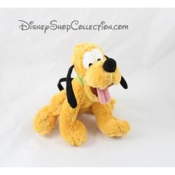 Peluche Pluto DISNEY STORE assis chien de Mickey 17 cm