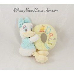 Plush rattle Daisy DISNEY STORE Hello little one yellow Bell