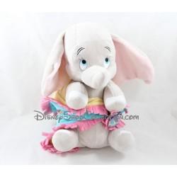 Peluche éléphant DISNEYLAND PARIS Dumbo couverture bébé Disney 27 cm