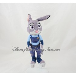Peluche Judy lapin DISNEY NICOTOY Zootopie bleu gris 27 cm