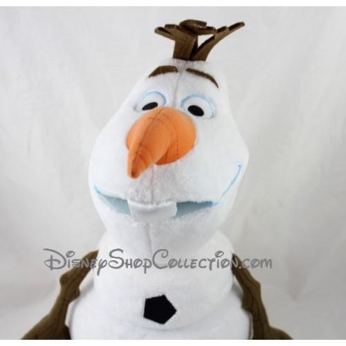 Peluche olaf disney store la reine des neiges bonhomme de - Bonhomme de neige olaf ...