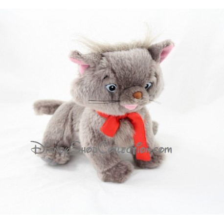 Peluche interactive chat Berlioz SMOBY Disney Les Aristochats gris 20 cm