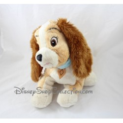 Peluche chienne Lady DISNEY La Belle et le Clochard 30 cm