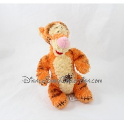Peluche Tigrou DISNEY NICOTOY Winnie l'Ourson rapiécé orange 20 cm