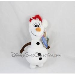 Peluche Olaf NICOTOY Disney La Reine des Neiges bonhomme de neige Noel 22 cm